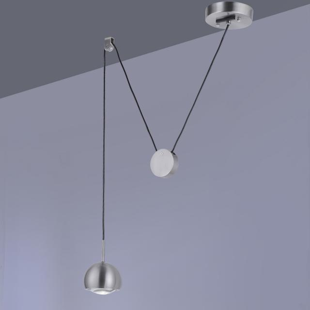 Paul Neuhaus Q-Adam RGBW LED Pendelleuchte mit Dimmer, 1-flammig