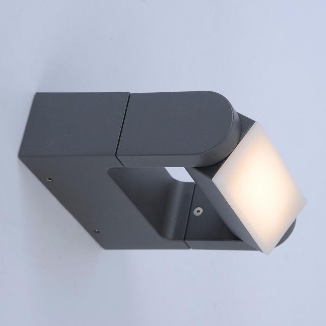 Paul Neuhaus Q-Albert RGBW LED Wandleuchte mit Dimmer