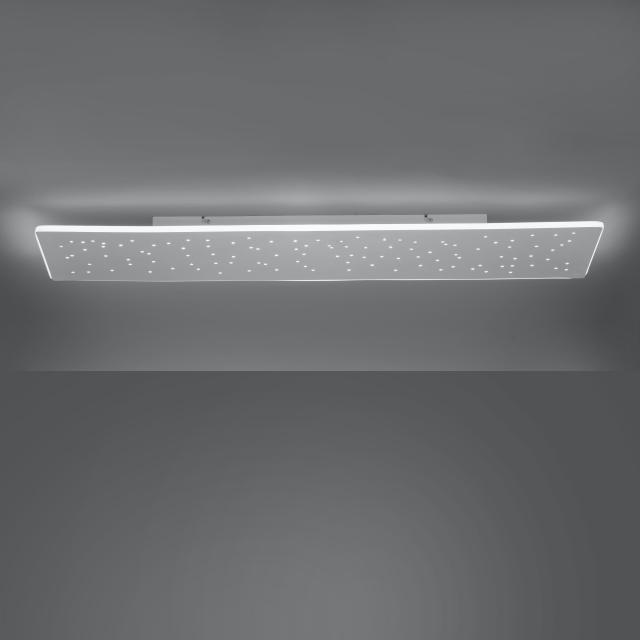 Paul Neuhaus Q-Nightsky LED Deckenleuchte mit Dimmer und CCT, länglich