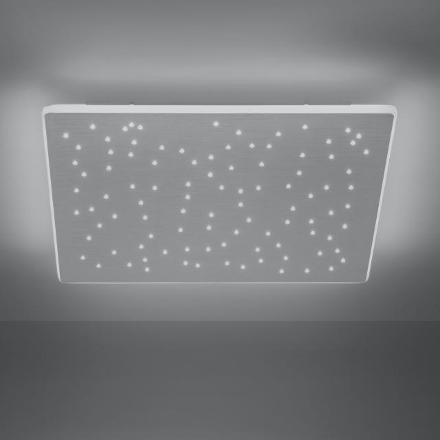 Paul Neuhaus Q-Nightsky LED Deckenleuchte mit Dimmer und CCT, quadratisch