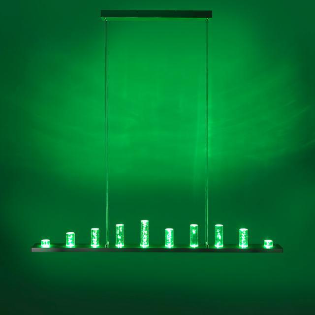 Paul Neuhaus Q-Skyline RGBW LED Pendelleuchte mit Dimmer