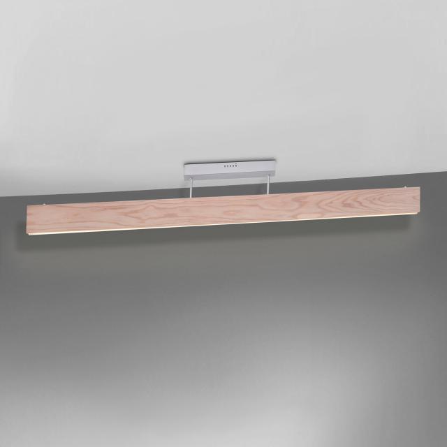 Paul Neuhaus Q-Timber LED Deckenleuchte mit Dimmer und CCT