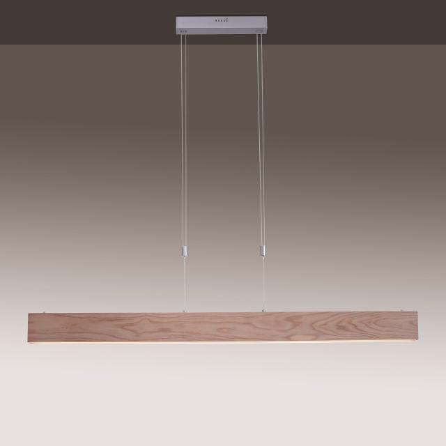 Paul Neuhaus Q-Timber LED Pendelleuchte mit Dimmer und CCT