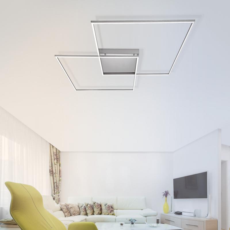 paul neuhaus inigo led deckenleuchte mit dimmer und cct. Black Bedroom Furniture Sets. Home Design Ideas
