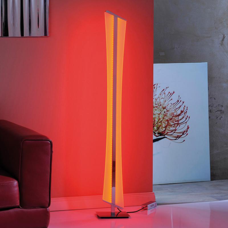 paul neuhaus q riller rgbw led stehleuchte mit dimmer 843 17 reuter. Black Bedroom Furniture Sets. Home Design Ideas