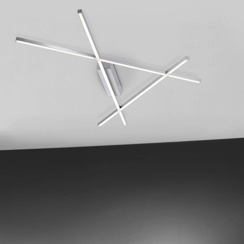 Paul Neuhaus Stick 2 LED Deckenleuchte Mit Dimmer   8051 55 | REUTER