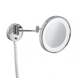 Pomd'or Universal Vergrößerungsspiegel Ø 240 mm, Wandmontage mit LED-Beleuchtung