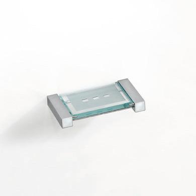 Pomd'or Metric Seifenschale für Wandmontage mit Glasplatte