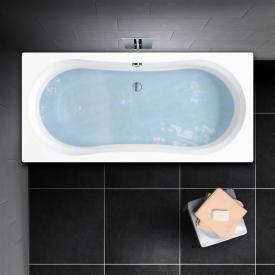 PREMIUM 100 Duo Rechteck-Badewanne Länge: 180 cm, Breite: 80 cm, Innentiefe: 43 cm