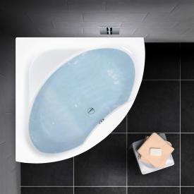 PREMIUM 100 Eck-Badewanne Länge: 140 cm, Breite: 140 cm, Innentiefe: 46 cm