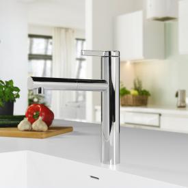 PREMIUM 100 Einhebel-Küchenarmatur mit ausziehbarem Auslauf, Niederdruck