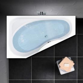 PREMIUM 100 Raumspar-Badewanne mit Ablagefläche Länge: 175 cm, Breite: 110 cm