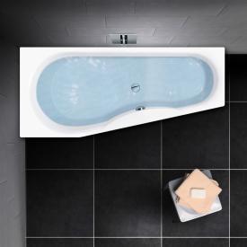 PREMIUM 100 Raumspar-Badewanne Länge: 170 cm, Breite: 75 cm, Innentiefe: 46 cm
