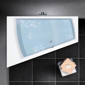 PREMIUM 100 Raumspar-Badewanne Länge: 180 cm, Breite: 129 cm, Innentiefe 46 cm