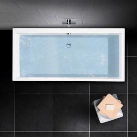 PREMIUM 100 Rechteck-Badewanne Länge: 180 cm, Breite: 80 cm, Innentiefe 46 cm
