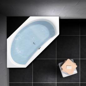 PREMIUM 100 Sechseck-Badewanne Länge: 195 cm, Breite: 90 cm