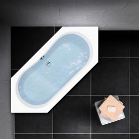 PREMIUM 100 Sechseck-Badewanne Länge: 200 cm, Breite: 90 cm