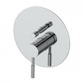 PREMIUM 100 Wannen/Brause-Einhandbatterie, Unterputz chrom