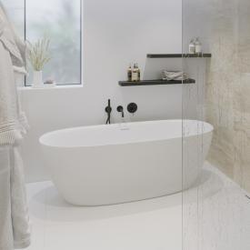 PREMIUM 200 Freistehende Oval-Badewanne Länge: 170, Breite: 80, Höhe: 58 cm