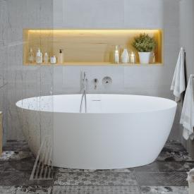 PREMIUM 200 Freistehende Oval-Badewanne Länge: 170, Breite: 82, Höhe: 58 cm