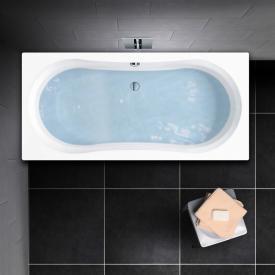 PREMIUM Duo Rechteck-Badewanne Länge: 170 cm, Breite: 75 cm
