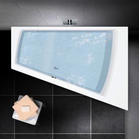 PREMIUM Trapez-Badewanne Länge: 180 cm, Breite: 129 cm