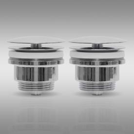 PREMIUM Universal Zubehörpaket H für Doppelwaschtische ohne Überlauf