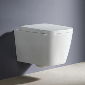 PREMIUM Wand-Tiefspül-WC, spülrandlos, eckig
