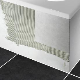 PREMIUM Wannenträger für Raumspar-Badewannen mit Ablagefläche Länge: 175 cm, Breite: 110 cm