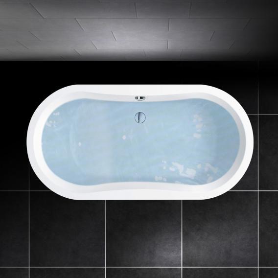 PREMIUM 100 Oval-Badewanne Länge: 180 cm, Breite: 90 cm, Innentiefe: 46 cm