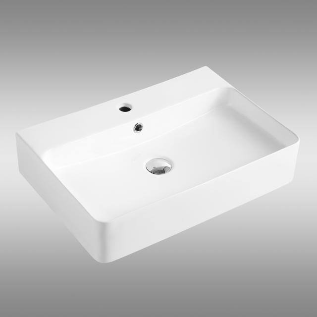 PREMIUM 100 Aufsatz- oder Hängewaschtisch B: 60 T: 42 cm
