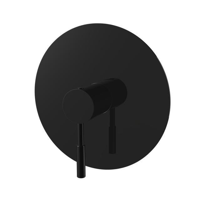 PREMIUM 100 Brause-Einhandbatterie, Unterputz schwarz matt