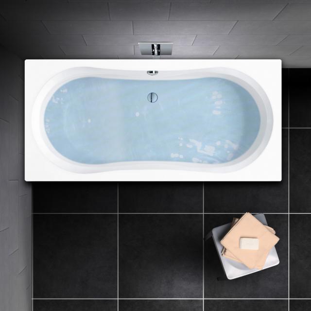 PREMIUM 100 Duo Rechteck-Badewanne, Einbau Länge: 170 cm, Breite: 75 cm, Innentiefe: 43 cm