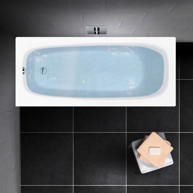 PREMIUM 100 Mono Rechteck-Badewanne, Einbau Länge: 150 cm, Breite: 70 cm, Innentiefe: 40 cm