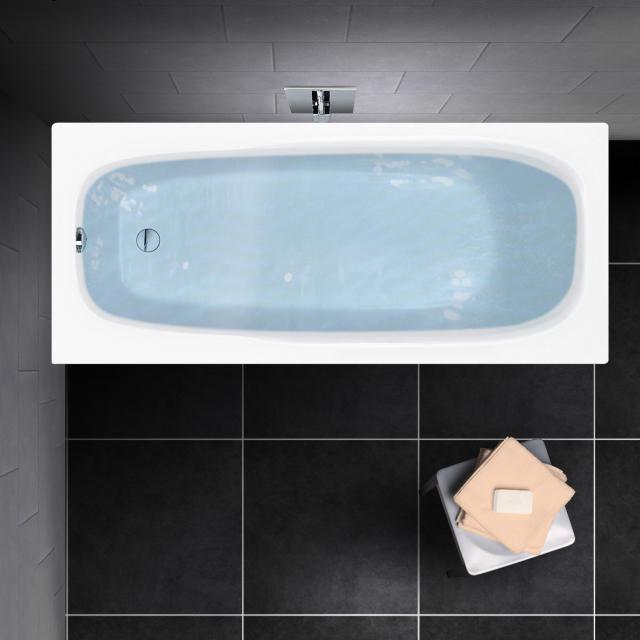 PREMIUM 100 Mono Rechteck-Badewanne, Einbau Länge: 180 cm, Breite: 80 cm, Innentiefe: 40 cm