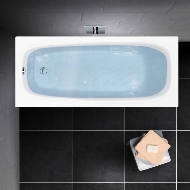 PREMIUM 100 Mono Rechteck-Badewanne Länge: 170 cm, Breite: 75 cm, Innentiefe: 40 cm