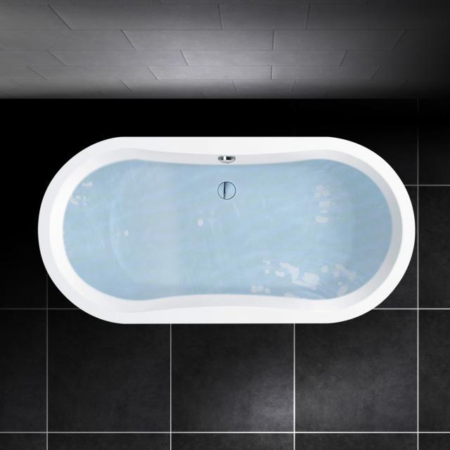 PREMIUM 100 Oval-Badewanne, Einbau Länge: 190 cm, Breite: 90 cm, Innentiefe: 46 cm