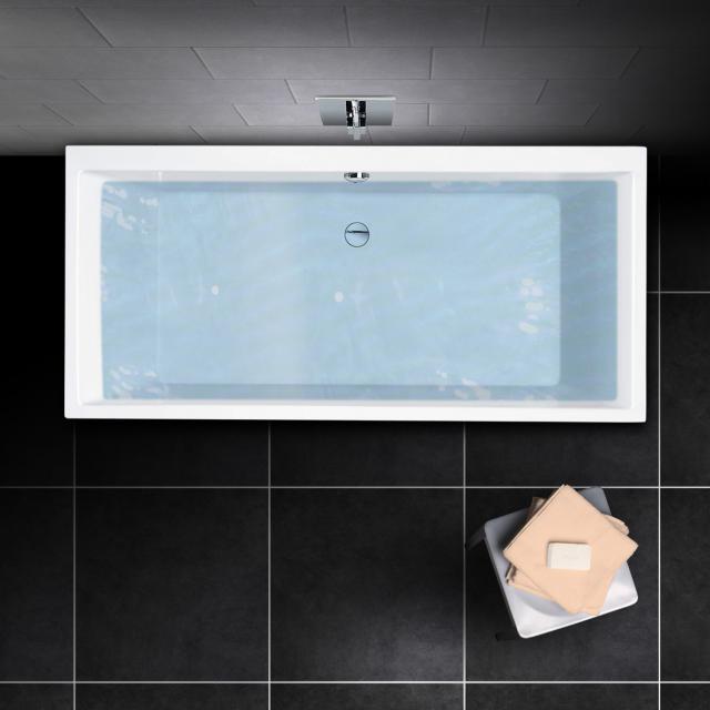 PREMIUM 100 Rechteck-Badewanne, Einbau Länge: 180 cm, Breite: 80 cm, Innentiefe 46 cm