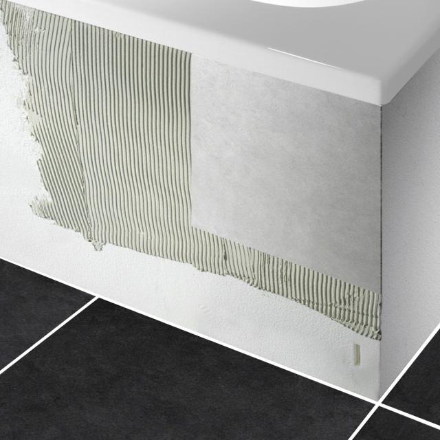 PREMIUM 100 Wannenträger für Sechseck-Badewanne Länge: 204 cm, Breite: 108 cm