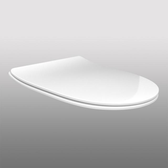 PREMIUM 100 WC-Sitz slim, oval, abnehmbar, mit Absenkautomatik