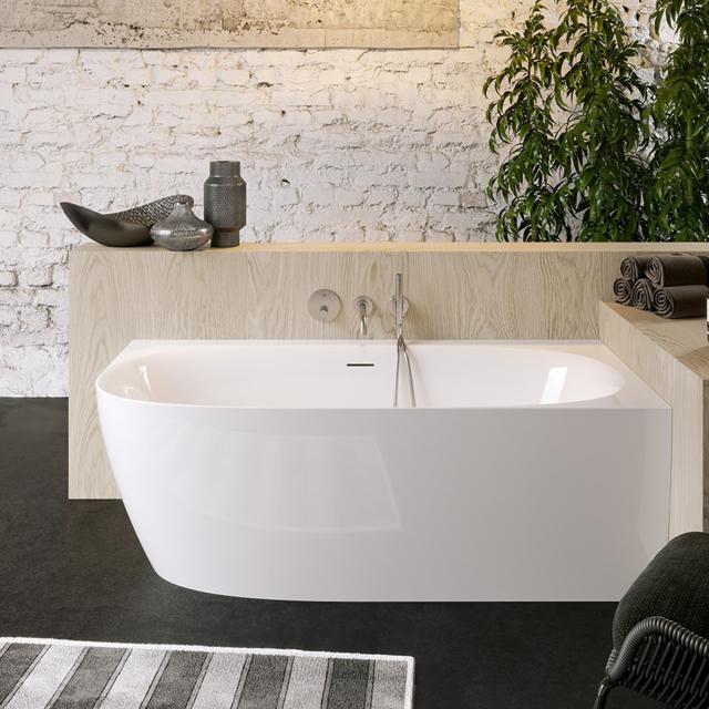 PREMIUM 200 Eck-Badewanne mit Verkleidung L: 170 B: 80 H: 59 cm, Raumecke rechts
