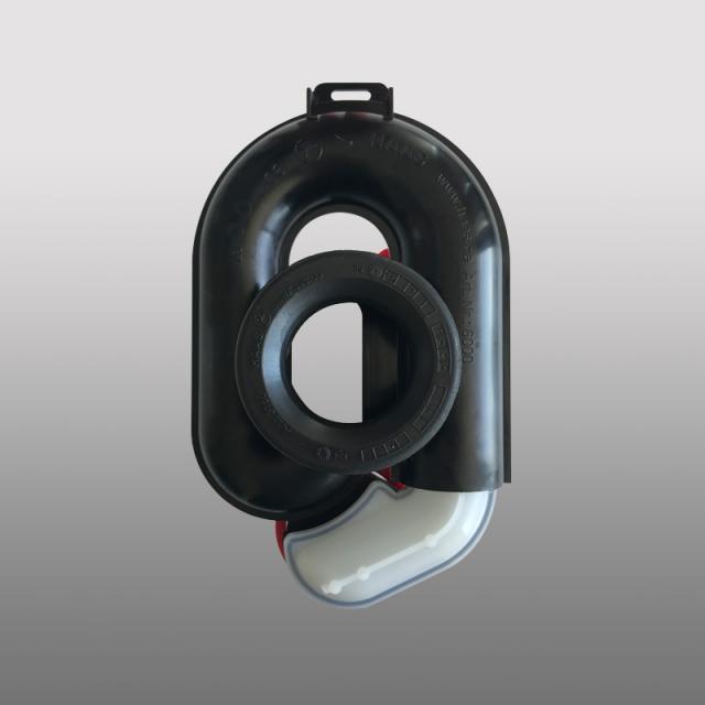 PREMIUM Universal Urinal-Absaug-Siphon, höhenverstellbar um 65 mm, waagerecht