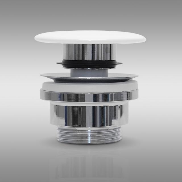 PREMIUM Universal Zubehörpaket A für Waschtische mit Überlauf, keramische Abdeckung