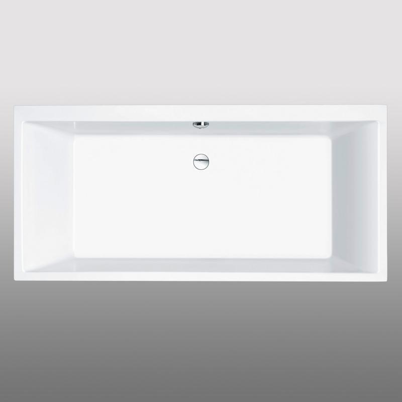PREMIUM Rechteck-Badewanne Länge: 190 cm, Breite: 90 cm - PR1015 ...