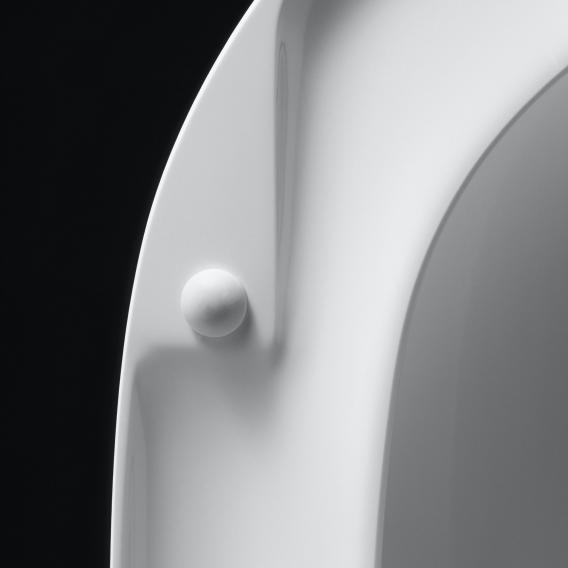 Pressalit Objecta D WC-Sitz L: 39,9-44,9 B: 36,3 cm mit Universal-Flex-Scharnier