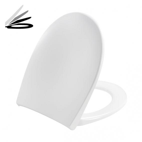 Pressalit Scandinavia PLUS WC-Sitz weiß, mit Lift-off und Absenkautomatik soft-close