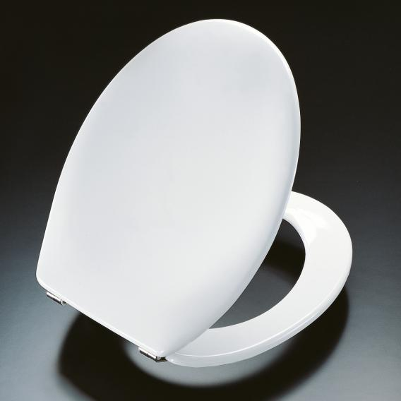 Pressalit Scandinavia WC-Sitz L: 41,3-44,5 B: 37,5 cm weiß