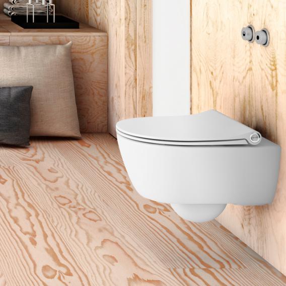 Pressalit Sway D WC-Sitz weiß mit Lift-off und Absenkautomatik soft-close