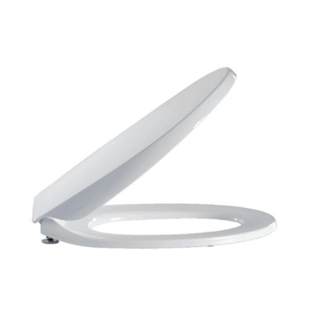 Pressalit Calmo WC-Sitz L: 41,2-45 B: 37 cm Mit Absenkautomatik soft-close und lift-off