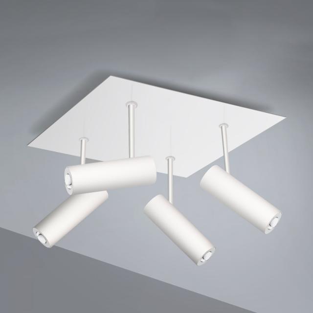 Pujol Tub LED Deckenleuchte/Spot 4-flammig